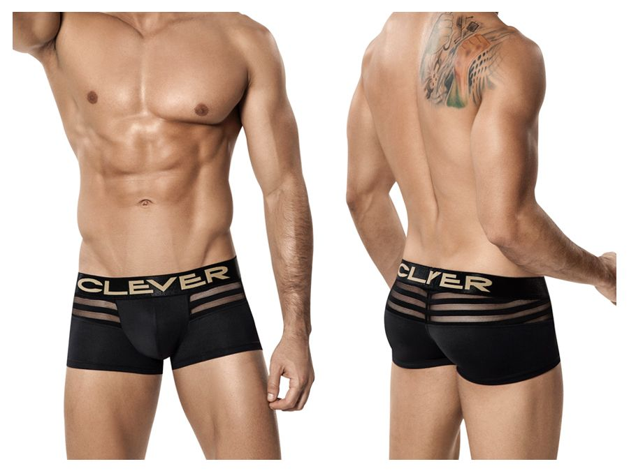 Clever 2210 Ammolite Latin Boxer Color Black