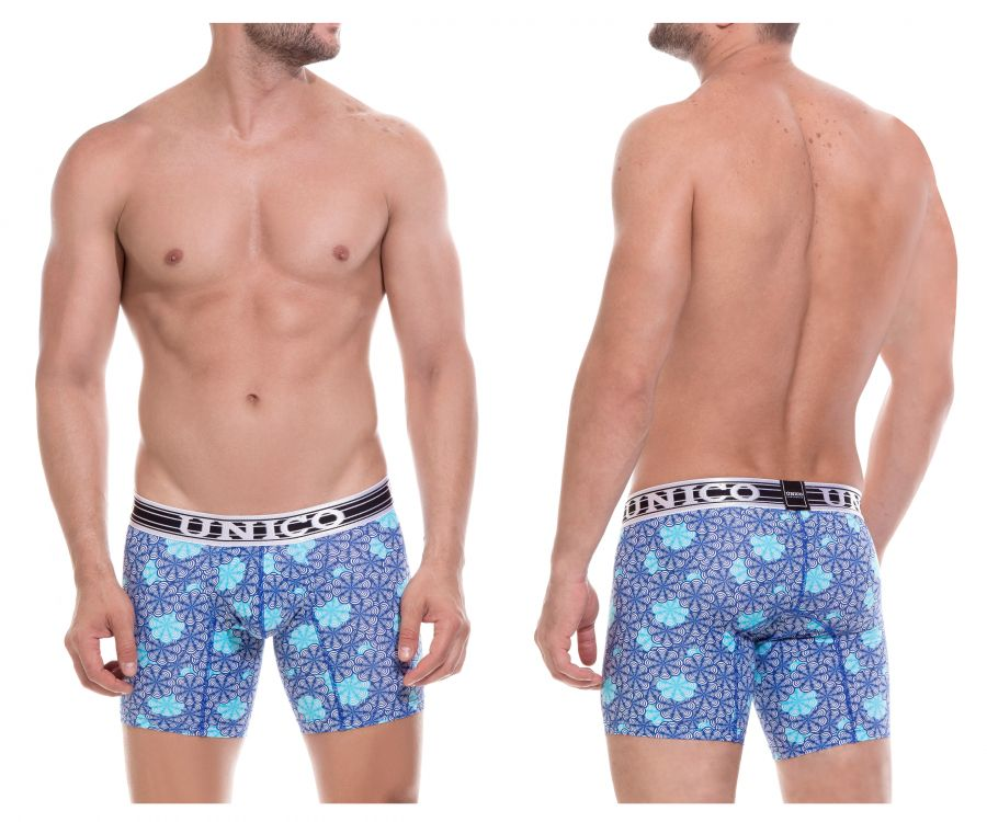 Unico 1803010021146 Boxer Briefs Ecologico Color Multi