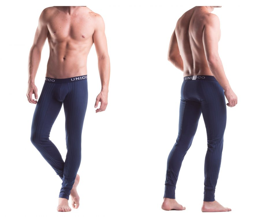 9610110182 Long Johns Profundo Color Blue