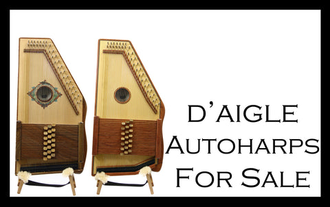 In Stock d'Aigle Autoharps For Sale
