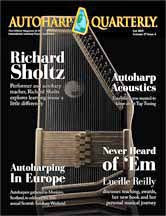 Autoharp Quarterly Issue Fall 2015