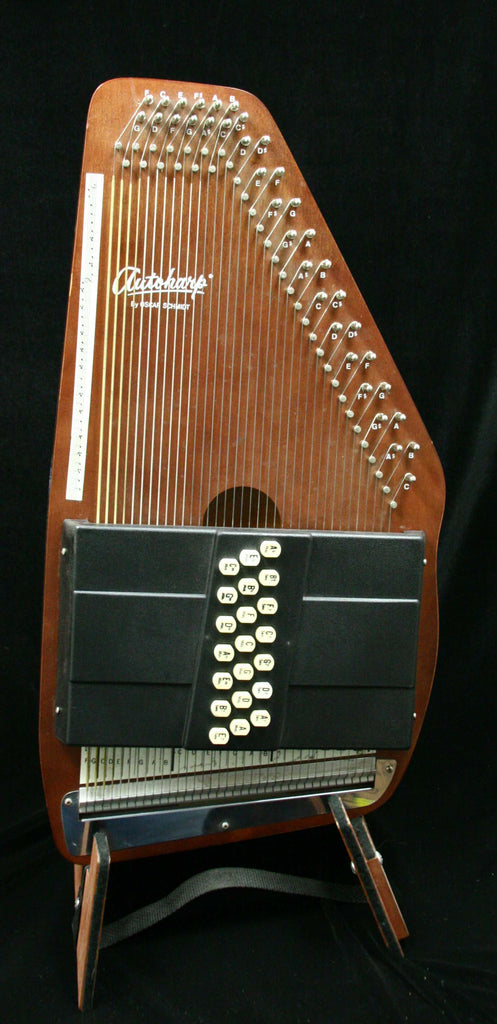 Oscar Schmidt 21 C autoharp with gig bag