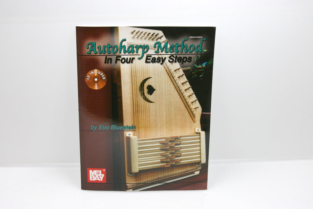 Autoharp Method In Four Easy Steps Book - d'Aigle Autoharps Marketplace