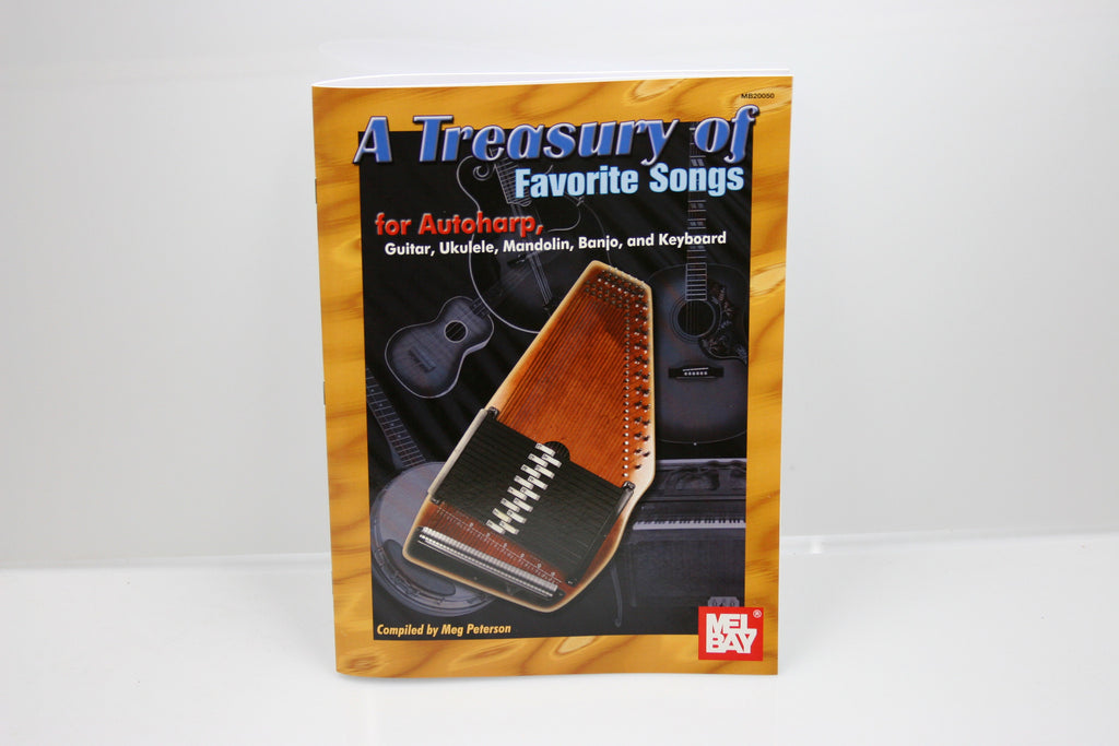 A Treasury of Favorite Songs Autoharp Book - d'Aigle Autoharps Marketplace