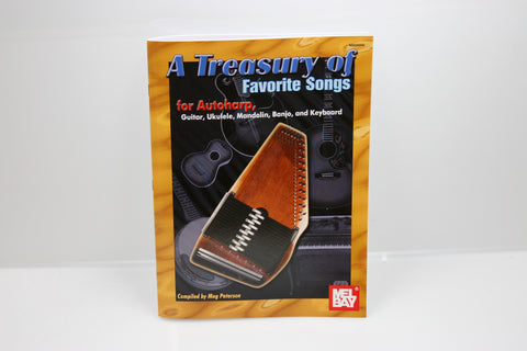 A Treasury of Favorite Songs Autoharp Book