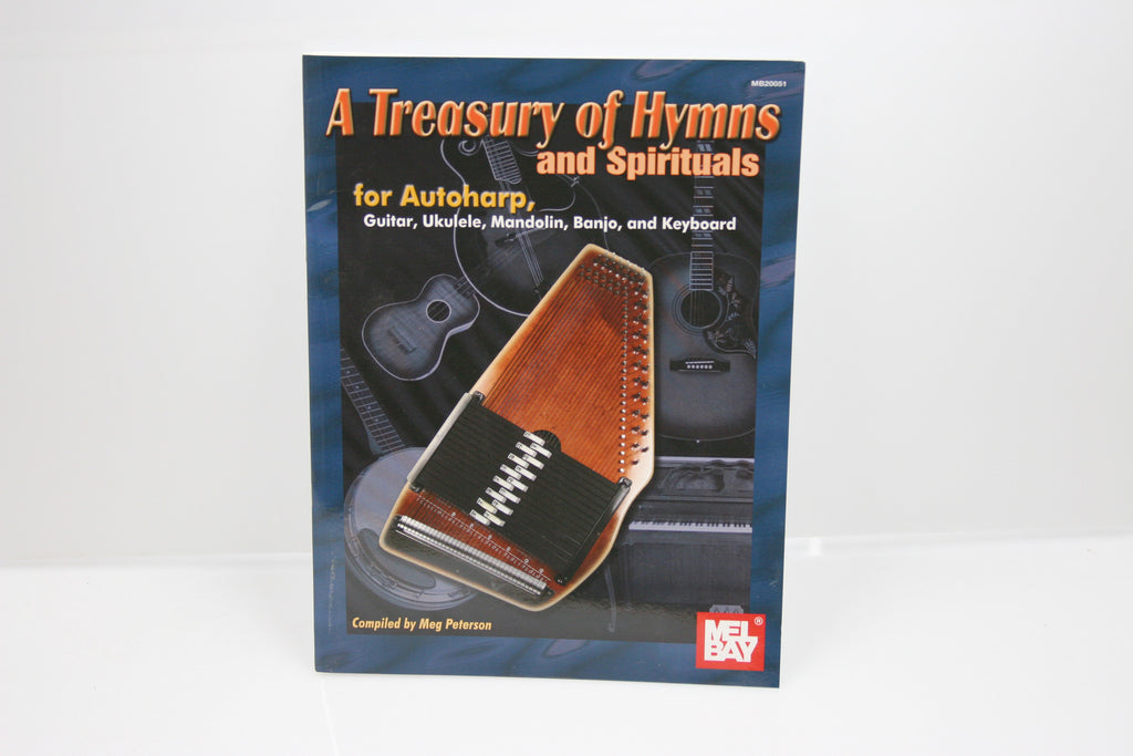 A Treasury Of Hymns And Spirituals Autoharp Book - d'Aigle Autoharps Marketplace
