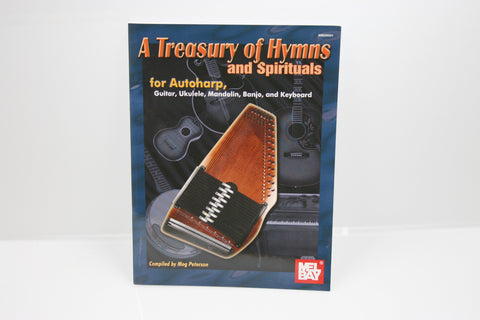 A Treasury Of Hymns And Spirituals Autoharp Book