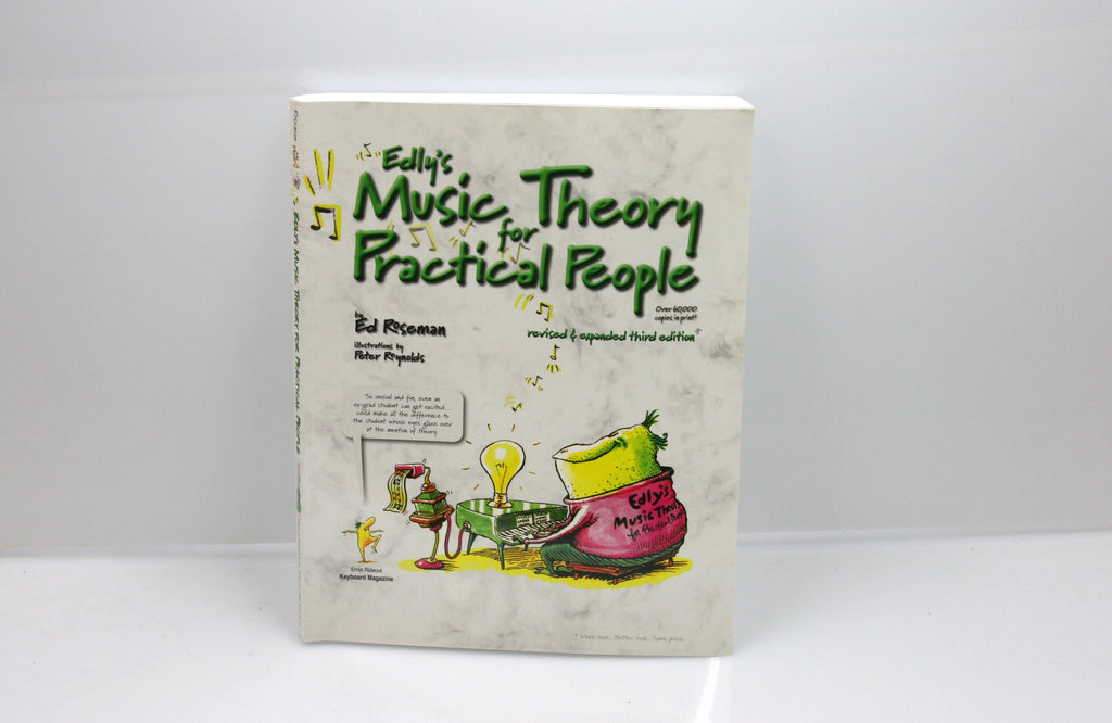 Edly's Music Theory For Practical People Autoharp Book - d'Aigle Autoharps Marketplace