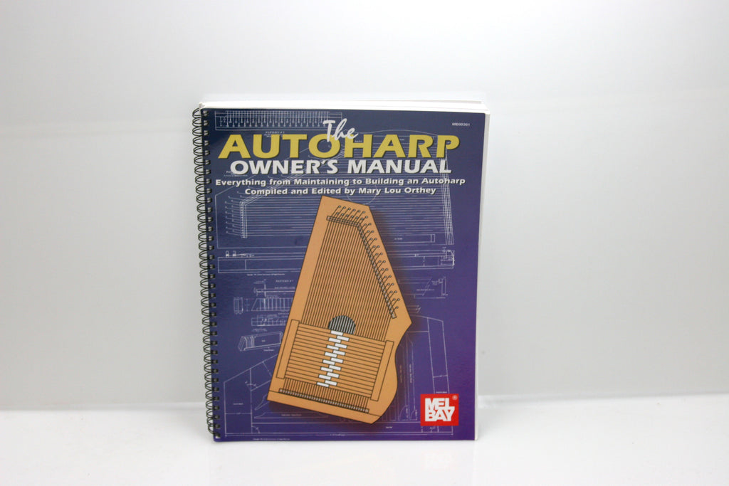 The Autoharp Owner's Manual Book - d'Aigle Autoharps Marketplace