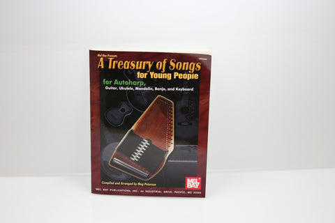 A Treasury of Songs for Young People Autoharp Book
