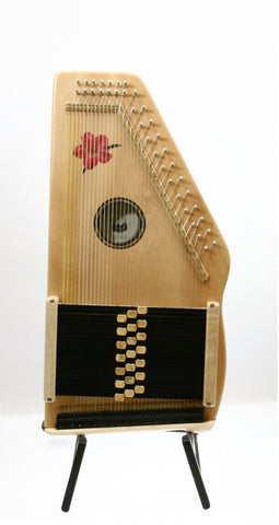 d'Aigle Desert Rose 21 Bar Chromatic Autoharp