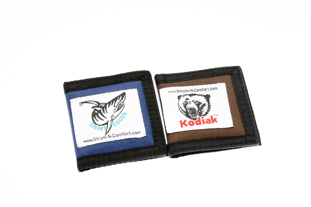 Kodiak And Shark Tooth Pick Pouches - d'Aigle Autoharps Marketplace