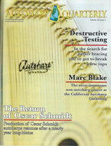 Autoharp Quarterly Issue Spring 13' - d'Aigle Autoharps Marketplace