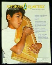 Autoharp Quarterly Issue Summer 2009 - d'Aigle Autoharps Marketplace