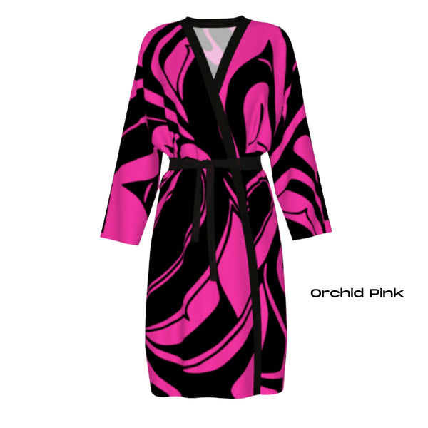 TransFormation Robe Silk - Orchid Pink