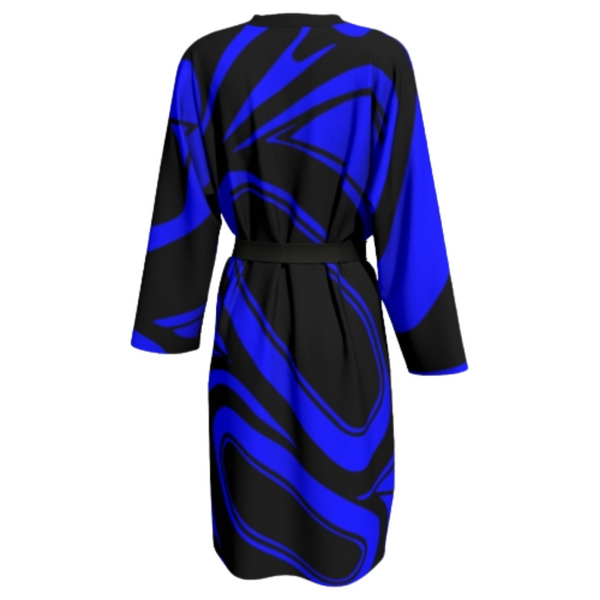 TransFormation Robe Silk - Cobalt Blue