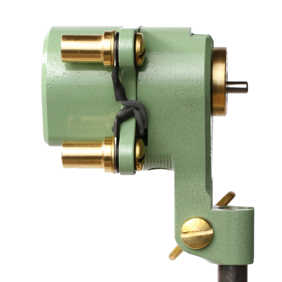 Revolute: Teal (Clip Cord) Rotary Tattoo Machine