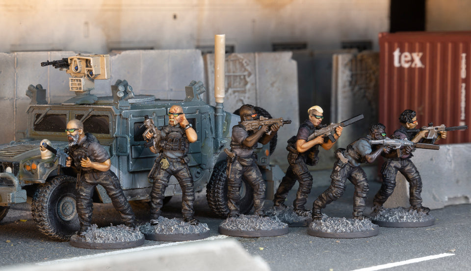 Spectre Miniatures - A New Frontier in 28mm Miniatures