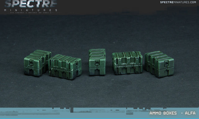 Ammunition Crates Alfa