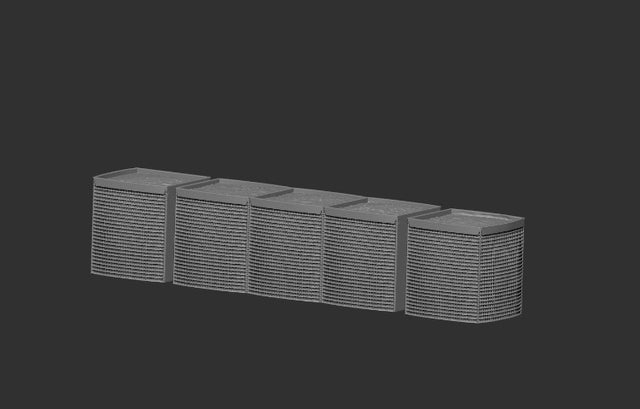 Large HESCO Barriers [STL Digital Download]