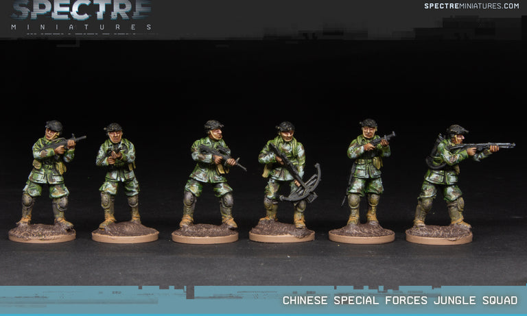 Chinese Special Forces Jungle Squad