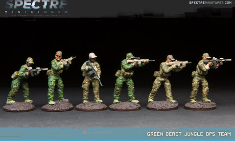Green Beret Jungle Ops Team