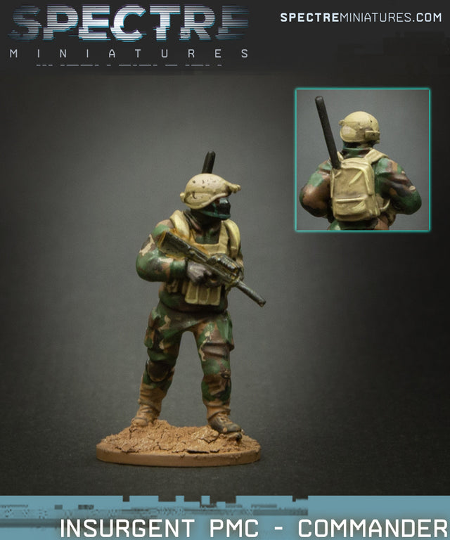 Insurgent PMC - Commander