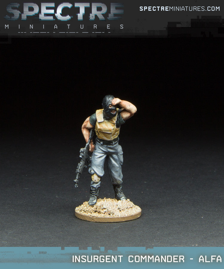 Insurgents Commander - Alfa