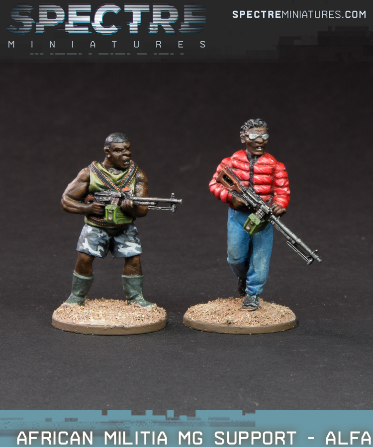 African Militia MG Support - Alfa