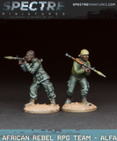 African Rebel RPG Team - Alfa