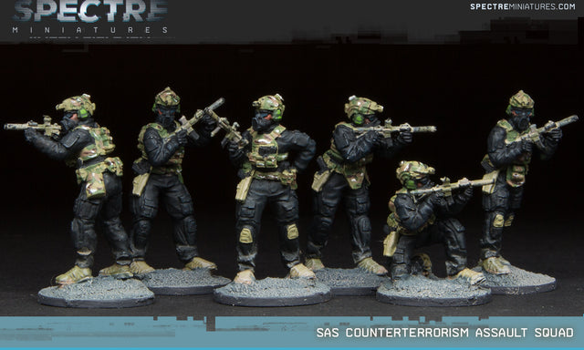 SAS Counterterrorism Assault Squad