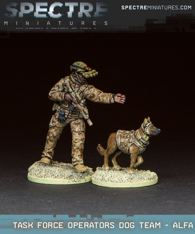 Task Force Operator Dog Handler - Alfa