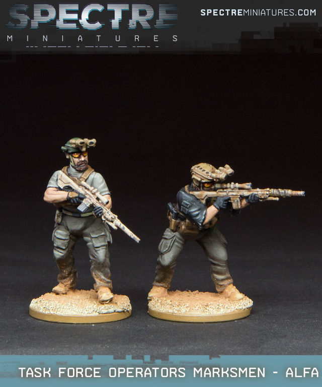 Task Force Operators Marksmen - Alfa
