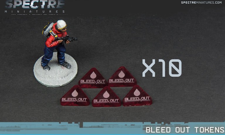 Bleed Out Tokens set