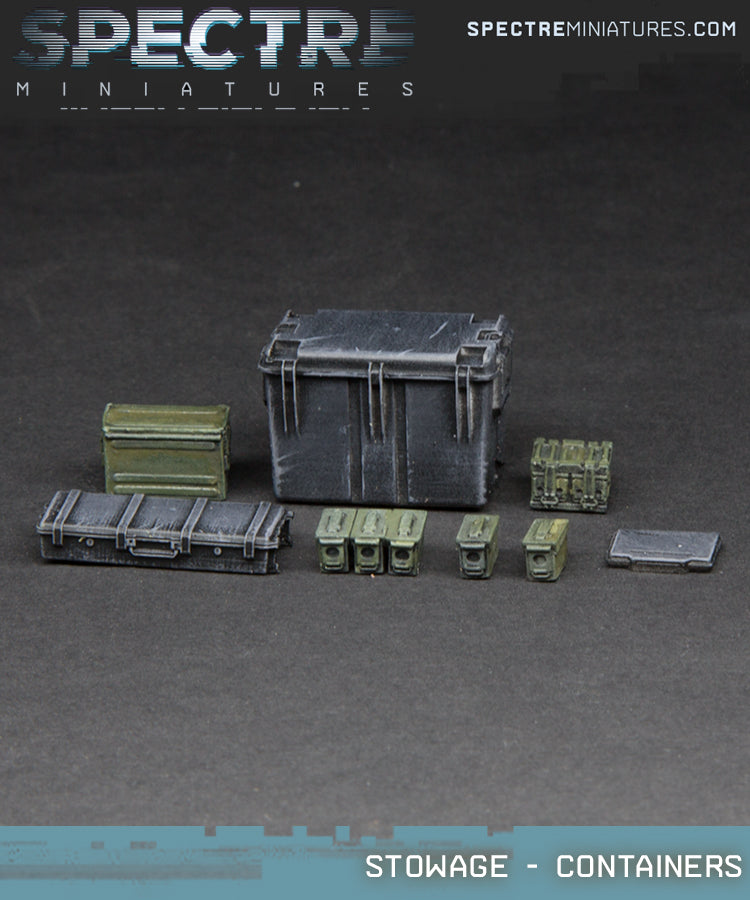 Stowage - Containers and Ammo