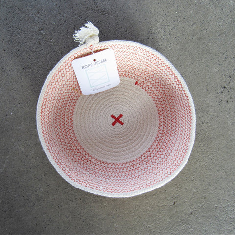 Rope Vessel: Red 6.5