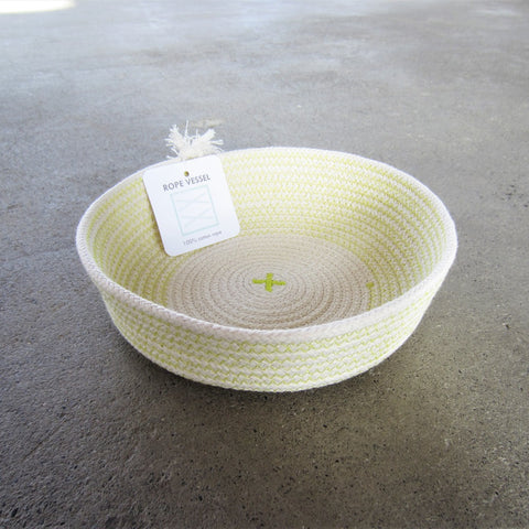 Rope Vessel: Yellow 6.5