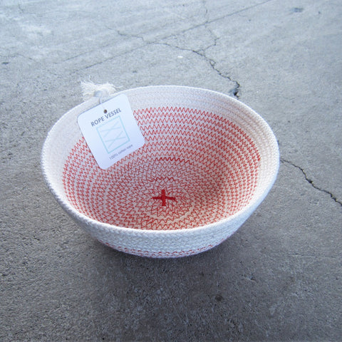 Rope Vessel: Red 6