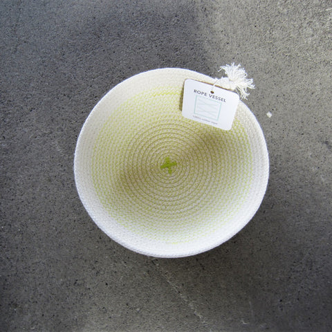 Rope Vessel: Yellow 6