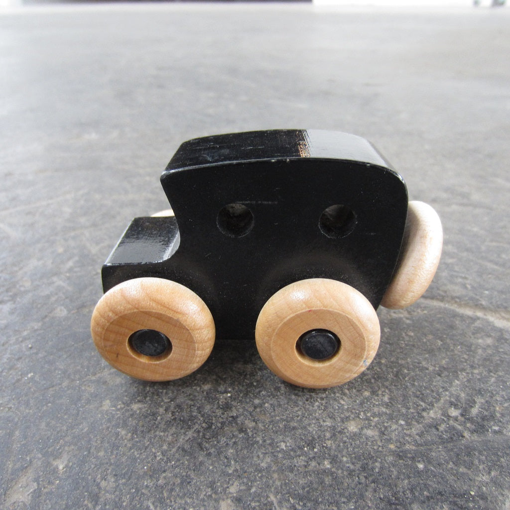 Little Wooden Car: Black