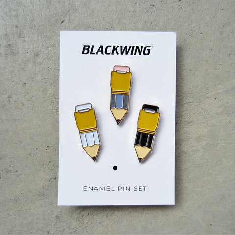 Blackwing Enamel Pins: Set of 3