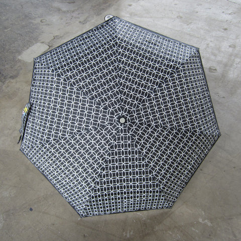 Black and White Compact Umbrella