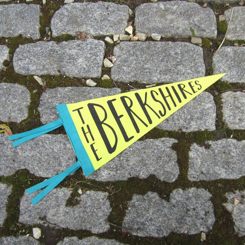 The Berkshires Felt Pennant