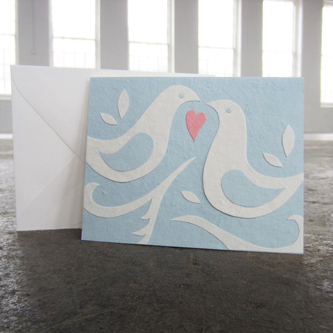 Greeting Card: Doves
