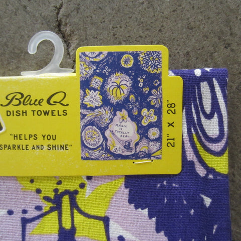 Printed Dish Towel: Magic is Totally Real