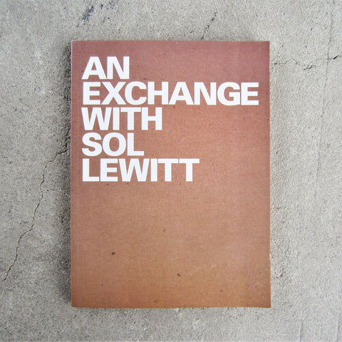 An Exchange with Sol LeWitt