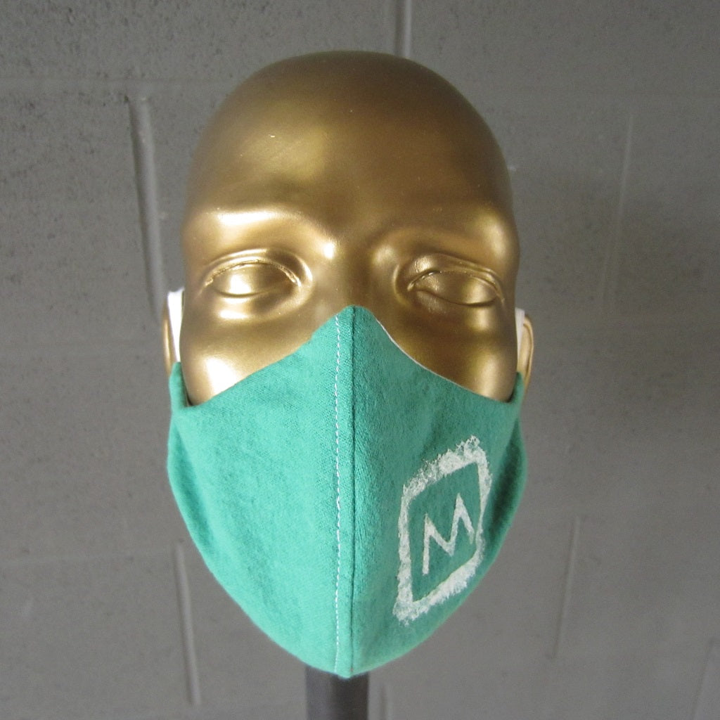 MASS MoCA Face Mask: Green