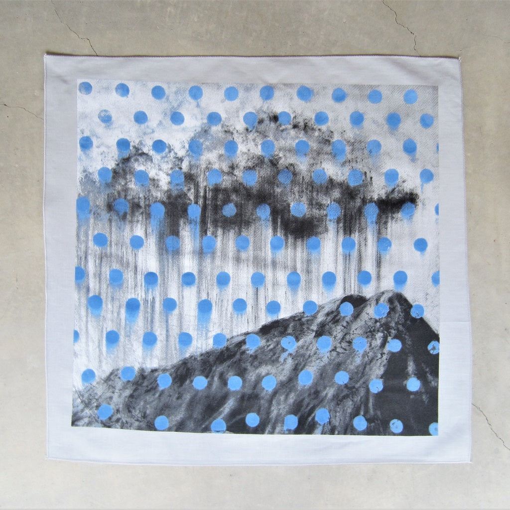 Merritt Johnson Bandana: The Clouds Rain on All Our Bones