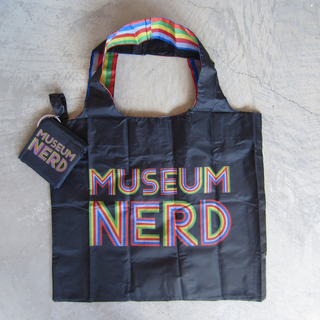 Museum Nerd Tote Bag with Pouch