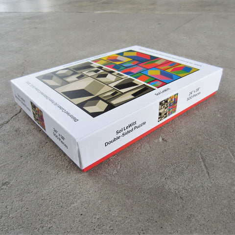 Jigsaw Puzzle: Sol LeWitt Double Sided